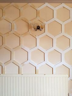 How to DIY a Wall with Hex Panels - Well, I think this is growing - Living Room Plans