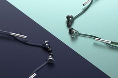Earphones for the white collar! | Yanko Design