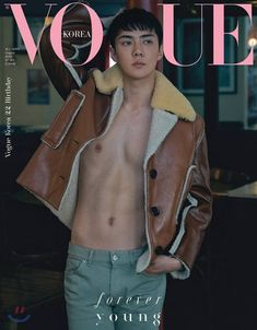 Today Vogue Korea party via aladin.kr website released some photos of Oh Sehun for the anniversary edition of Korean Vogue magazine. Baekhyun, Sehun Hot, Vogue Korea, K Pop, Shinee, Pose, Kim Minseok, Kim Junmyeon, Hot Guys
