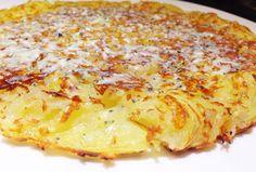 Batata Suíça - receita super fácil, prática, rápida e deliciosa. Melhor de tudo, você pode criar um monte de variações misturando com outros ingredientes.