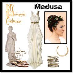 """Medusa Costume"" by peppersugar on Polyvore"