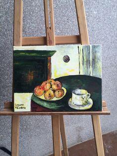 Paul sezanne painting by Layana Khankan