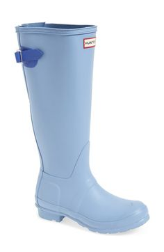 Adjustable calf means they might fit!! Hunter Adjustable Calf Rain Boot (Women) available at #Nordstrom