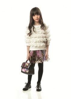 Roberto Cavalli en la feria de moda infantil Pitti Bimbo 2013