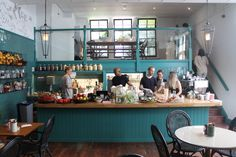 Farm Girl Cafe, Notting Hill- rose and lavender lattes and berry pancakes