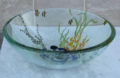 Bathroom Double Layer Glass Vessel Vanity Sink Bowl A3 by new look plumbing, http://www.amazon.com/dp/B001R2B9MI/ref=cm_sw_r_pi_dp_GbZrrb08FT7X4