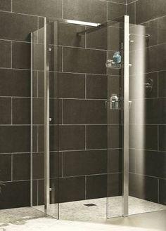 Shower Screen Frameless Euro 1200x900x1900mm Hinged Bunnings Warehouse Ba