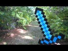смотреть как сделать лего меч из майнкрафт #6