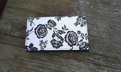 Si.Ma / Kvietkovaná peňaženka na 6 kariet,koženka+bavlna Wallet, Fashion, Pocket Wallet, Moda, Fasion, Purses, Diy Wallet, Purse