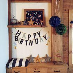 板壁/お誕生日飾り…などのインテリア実例 - 2015-06-24 07:48:36 | RoomClip(ルームクリップ)