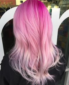Pink hair by @Hannahdisconnected #ColoredHair