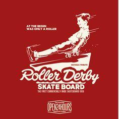 Roller Derby www.open24hours.cc