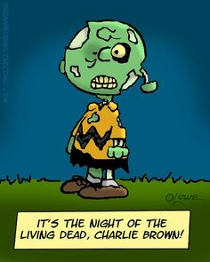 Zombie Charlie Brown