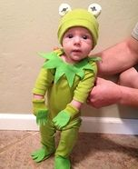 Kermit the Frog DIY Costume for Babies