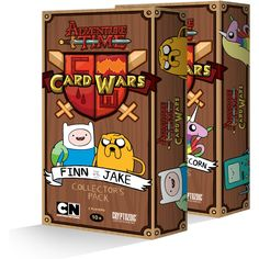 A Trading Card Game Inspired by the 'Card Wars' Episode of 'Adventure Time'