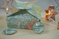 {Gastbeitrag} Last Minute Weihnachtsgeschenk für Weltenbummler. Decorative Boxes, Blog, Home Decor, World, Maps, Decoration Home, Room Decor, Blogging