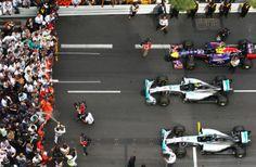 Podium @ the 2014 The Formula One Grand Prix de Monaco