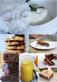 16 Amazingly Delicious Sugar-Free Desserts and Sweet Treats