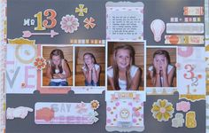 """""""My Love for You"""" by Kathy, as seen in the Club CK Idea Galleries. #scrapbook #scrapbooking #creatingkeepsakes"""