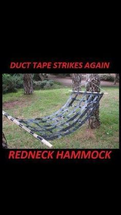 Redneck crafts with duct tape