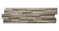 Faux stacked stone panels have the appeal of real stone and add unique charm to any design. Stacked Stone Panels, Faux Stone Panels, Faux Panels, Interior Window Trim, Exterior Entry Doors, Victorian Porch, Fake Stone, Interior Design Books, Decorating Blogs