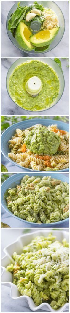 This avocado pasta is out of this world! Easy to make Avocado and parmesan pasta sauce that will impress everyone! Entree Recipes, Vegan Recipes, Cooking Recipes, Italian Recipes, Clean Eating, Healthy Eating, Healthy Foods, Avocado Pasta, Grilled Vegetables
