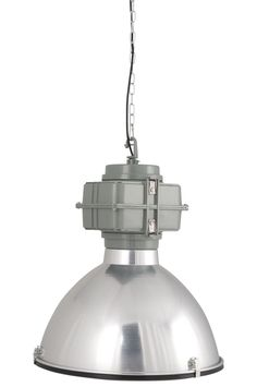 Vic Industry from Zuiver Pendant Lamp, Chrome, Industrial, Ceiling Lights, Lighting, Design, Home Decor, Detail, Furniture