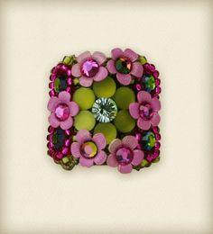 Orly Zeelon Floral Rosette ring