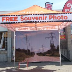 Customized Canopy Produced By Outlet Tags Canopies Ltd
