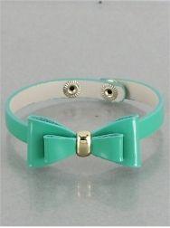 Green Bow Bracelet-