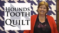 Hounds Tooth Quilt - I loooove these!!
