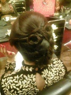 Veena hair do