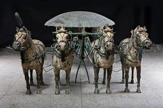 Chariot Model (Modern Replica)   China   Original: Qin dynasty (221–206 B.C.)   The Met