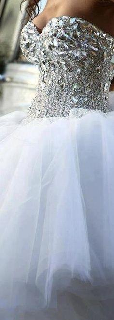 Cheap new fashion 2017 organza wedding dresses elegant for Blinged out wedding dress