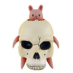 Bunny Skull by Jeremy Fish