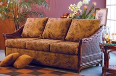 Casual, Contemporary and Conventional Outdoor Furniture Indoor Wicker Furniture, Monte Carlo, Couch, Contemporary, Floral, Home Decor, Settee, Decoration Home, Sofa