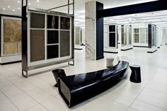 Our Toronto showroom features over 37,000 square feet of public showroom space, showcasing a comprehensive selection of porcelain, ceramic, glass, natural stone and tile accessory products with the largest supply-ready inventories.