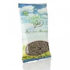 Hojas de Hierba Buena (Menta sátiva), planta procedente de agricultura ecológica, elaborado por la marca Herbes del Moli.
