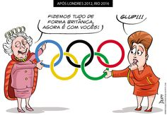 Rainha entrega responsabilidade para Dilma