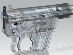 Anti Materiel Rifle, Explorer 1, 3d Cad Models, Assault Weapon, Firearms, Hand Guns, Weapons, Survival, Pew Pew