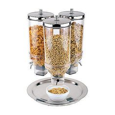 Triple Cereal Dispenser