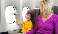 10 tips to make flying with kids a breeze. #travel #family #vacation