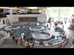 ユネッサン || Yunessan Spa Resort in Hakone, Japan