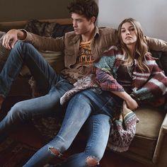 """""""Francisco ve Samantha'yla, 2015 Sonbahar koleksiyonuna ilk bakış. Yeni sezona yavaştan giriş yapmaya ne dersin?"""""""