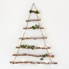 Birch Christmas Tree Hanger