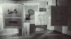 Material Matters_Space II_Artemonas School, Sifnos Island, August 2016 by Georgia Nikolakopoulou Georgia, Curtains, Island, Shower, Space, School, Prints, Art, Rain Shower Heads