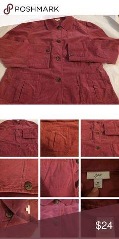 J Jill M Mauve Cotton Jacket! J Jill M Mauve Cotton Jacket! j jill Jackets & Coats