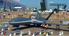 """El """"Cloud Shadow"""", el avión no tripulado chino para grandes alturas./ Imagen de Internet"""