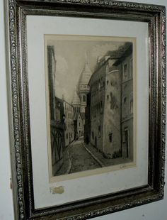 20131 ANTIQUE ENGRAVING - $999 or best offer - free ship worldwide OR PICK UP IN SARCHI COSTA RICA.