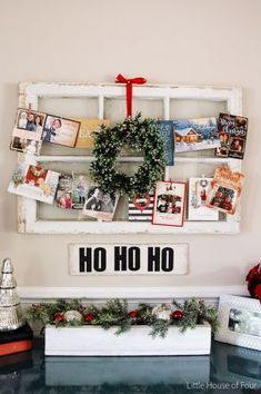 38 Totally Adorable Christmas Card Display Decoration Ideas 18